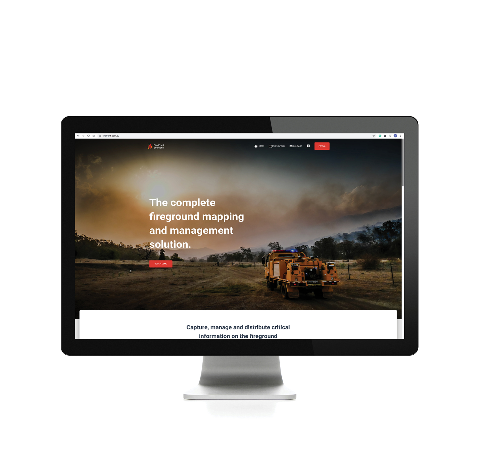Firefront Solutions Website