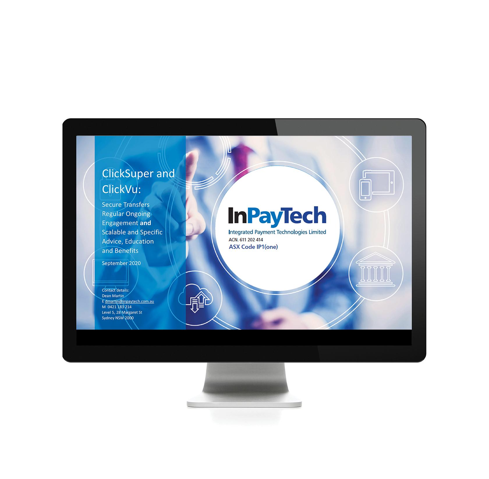 InPayTech Powerpoint presentation